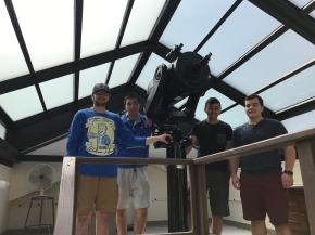 Telescope is Back On Top of Blodgett