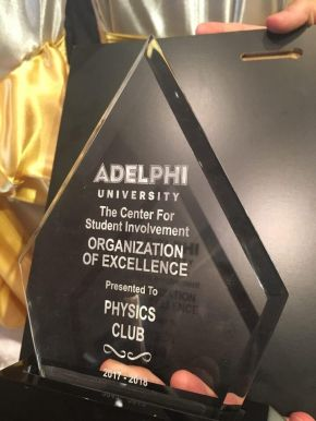 The Physics Club Scores Big at the Brown and Gold Award CeremoniesTonight
