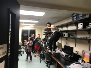 AU Physics Innovation Center Update: IC Czar Sally Lau takes theReigns!