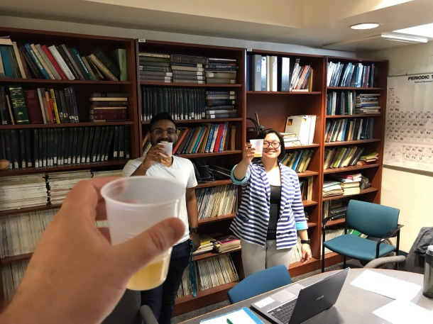 Chloe Ong Completes her Thesis Defense | matt wright